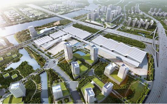 国际互联网+博览会场馆:潭州会展中心即将投入使用