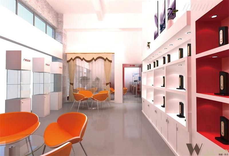 圣邦智能家具展厅设计