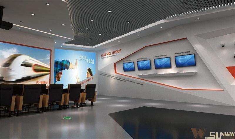 佳都科技展厅规划设计